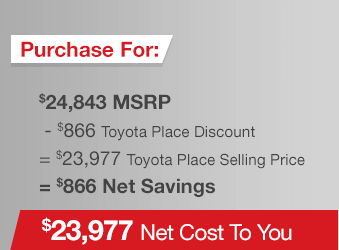 Toyota Tacoma Purchase Offer