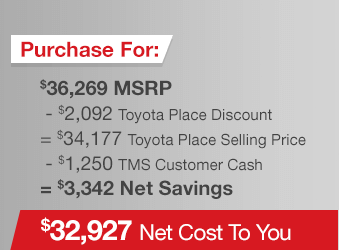 Toyota Tundra Purchase Offer