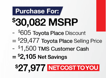 Toyota Prius Purchase Offer June 2018