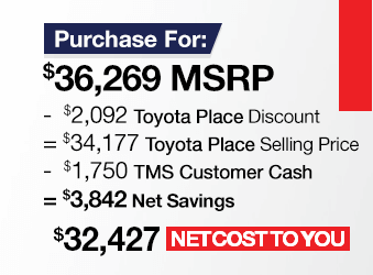 Toyota Tundra Purchase Offer June 2018