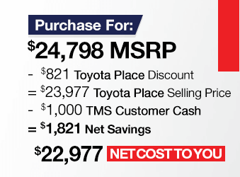 Toyota Tacoma Purchase Offer June 2018