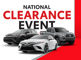 Toyota Clearance Event 2018