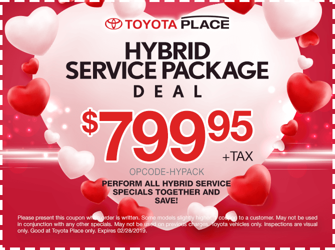 Hybrid Full Service Package Deal $799.95 + tax