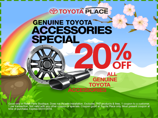 Toyota Parts Special