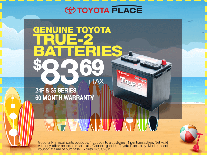 Toyota Battery Special