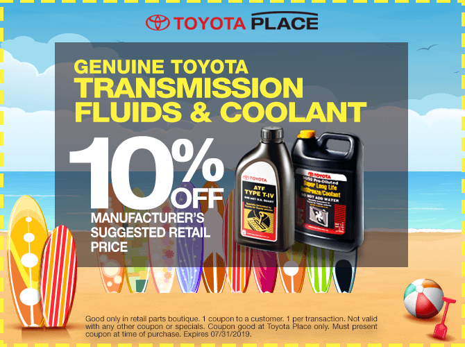 Toyota Transmission Fluid and Coolant