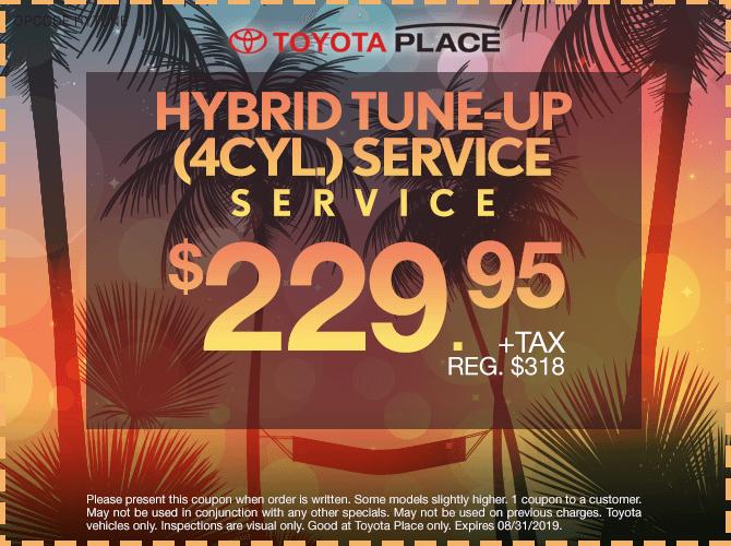 Hybrid Tune-Up Service $229.95 + tax