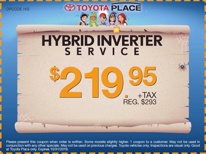 Hybrid Inverter Service $219.95 + tax