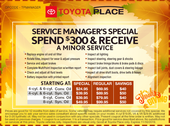 Service Manager Special