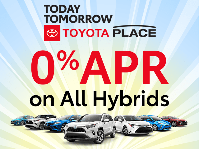 0% APR on All New Hybrids