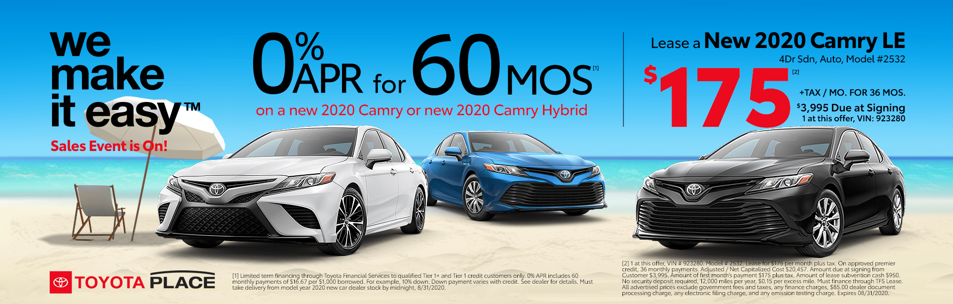 Toyota Camry Specials in Orange County