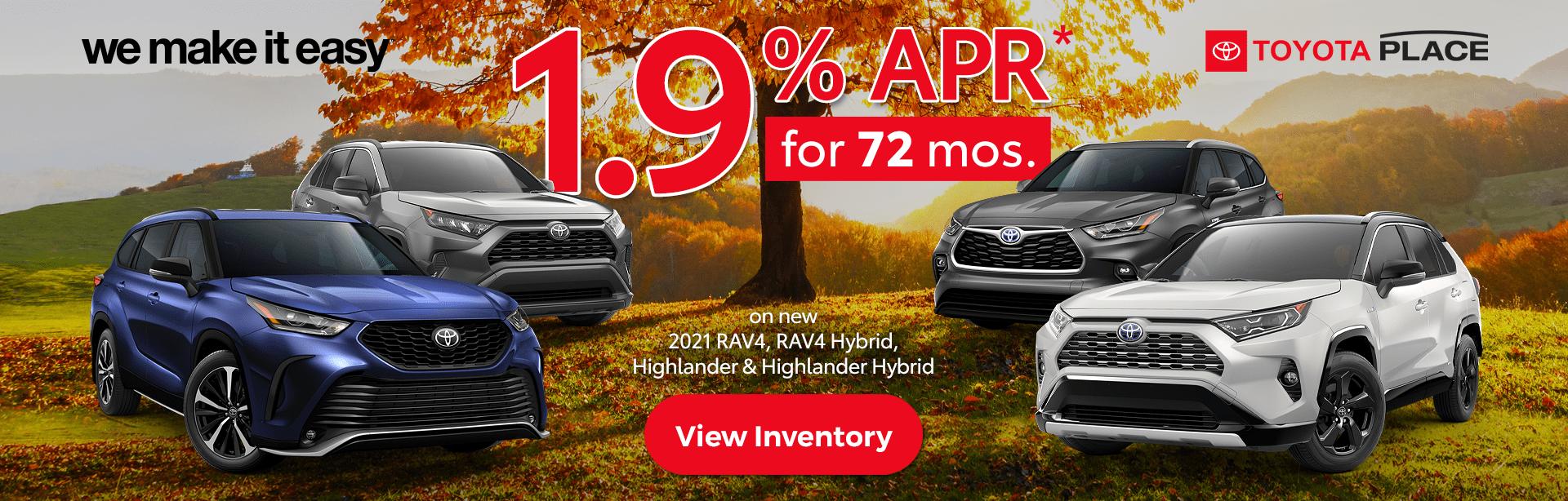 October_2021_Toyota_Place_We_Make_it_Easy_Toyota_RAV4_Highlander