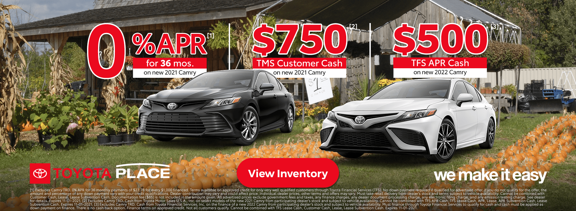 Toyota Camry Specials Orange County