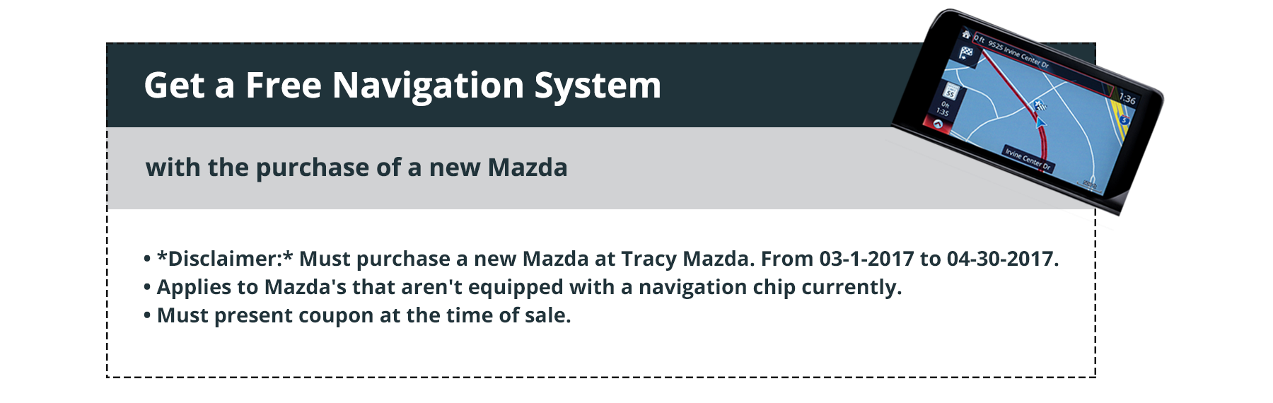 Tracy Mazda Coupon