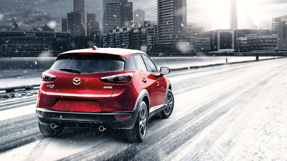 2016 Mazda CX3 Winter Driving