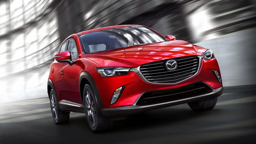 2018 Mazda CX-3 Compact Car Soul Red