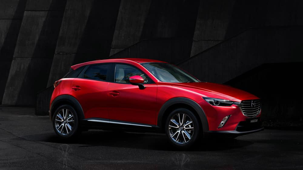 2018 Mazda CX-3 Compact Crossover Soul Red