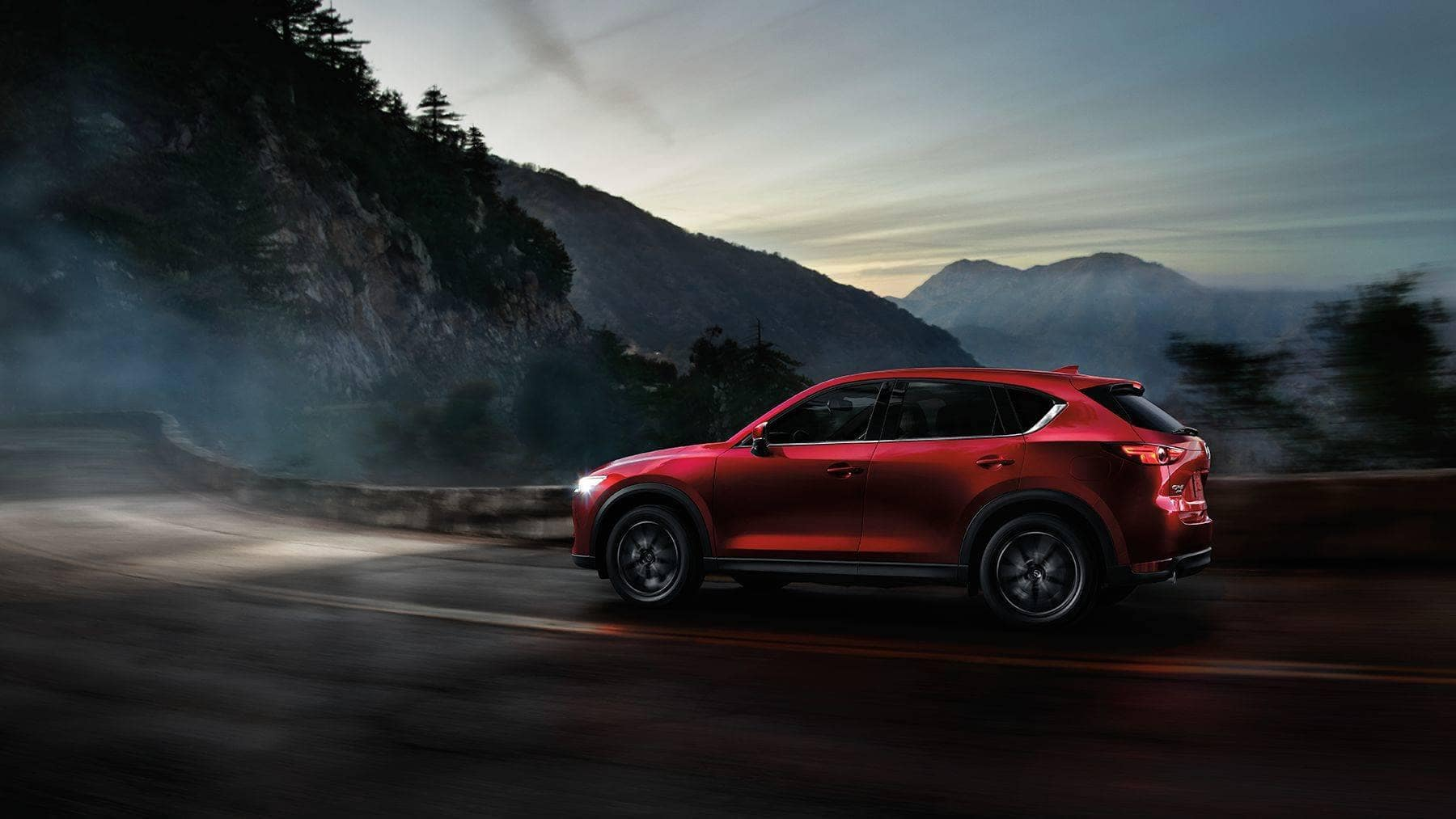 2018 Mazda CX-5 in the mountains