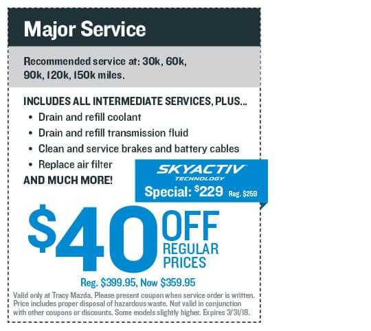 Major Service Coupon