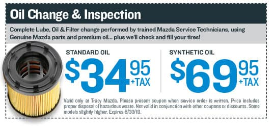 Oil Change & Inspection Coupon