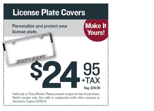 License Plate Covers Coupon