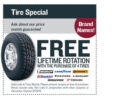 October Tire Special Coupon