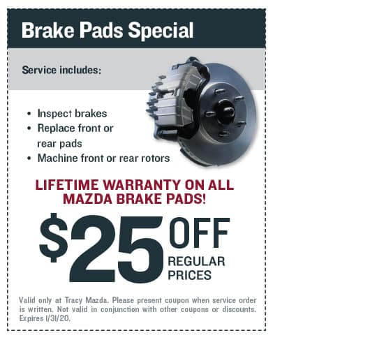 Brake Pads Special Coupon