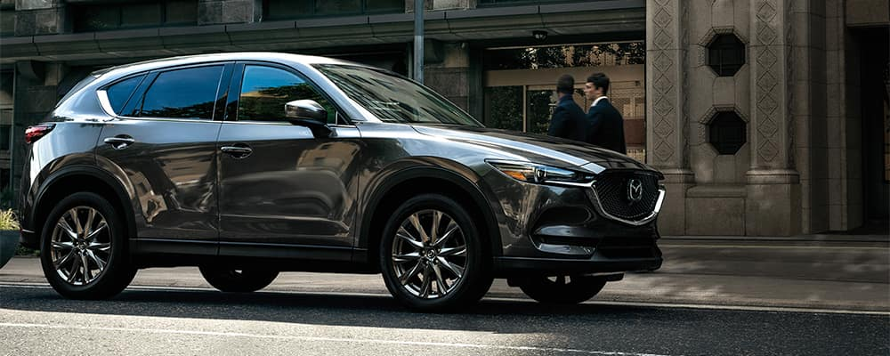 Mazda CX-5 Parked Curbside
