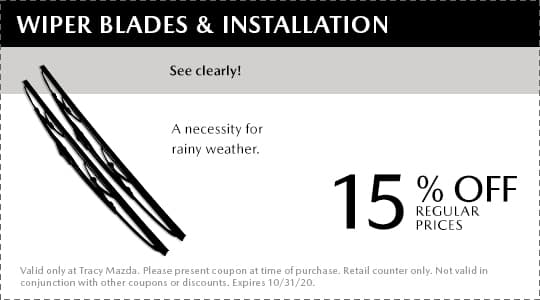 Wiper Blades and Installation Coupon