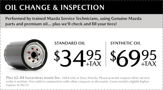 Oil Change and Inspection Coupon