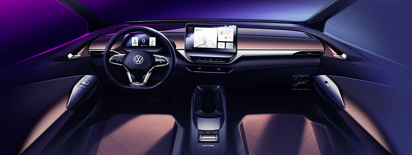 the ID.4 interior
