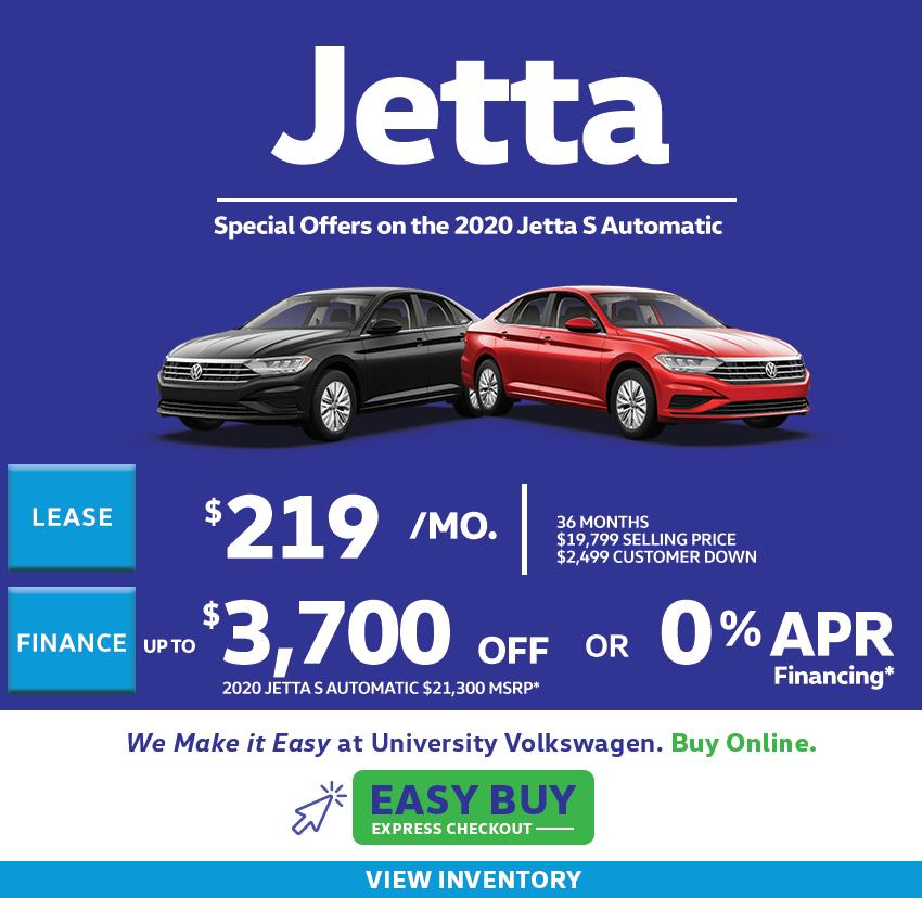 2020 Jetta Offers