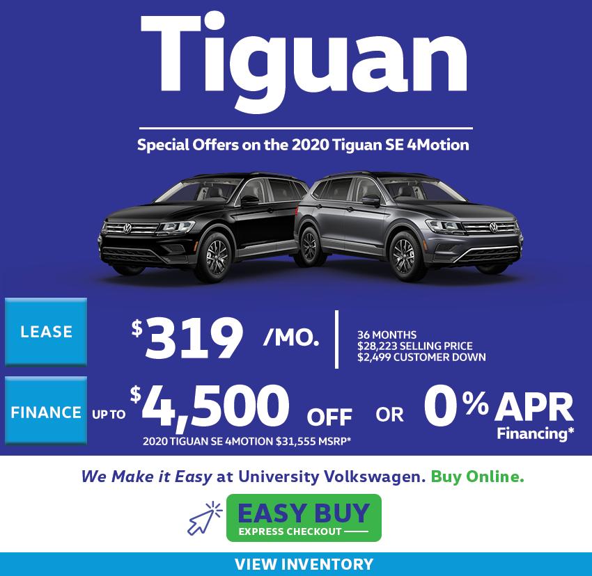 2020 Tiguan Offers