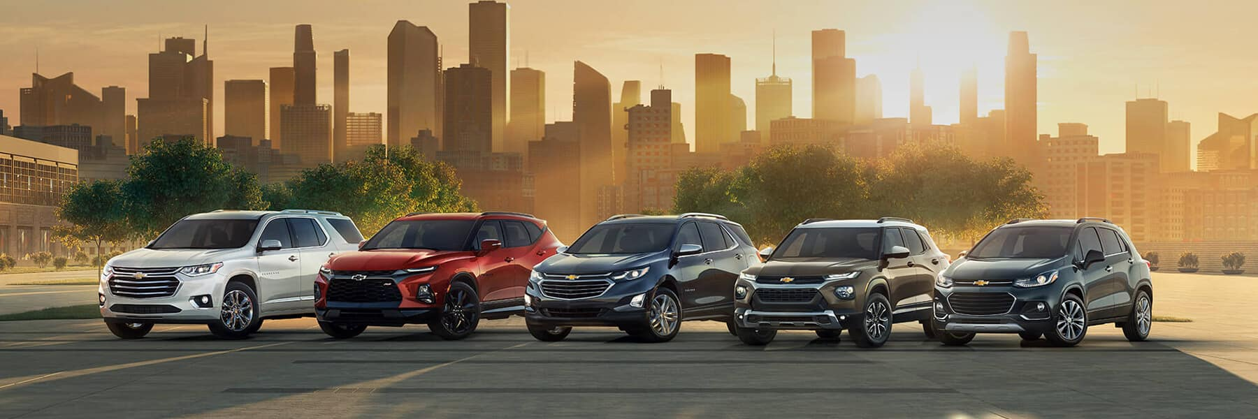 2020 Chevy SUV Lineup