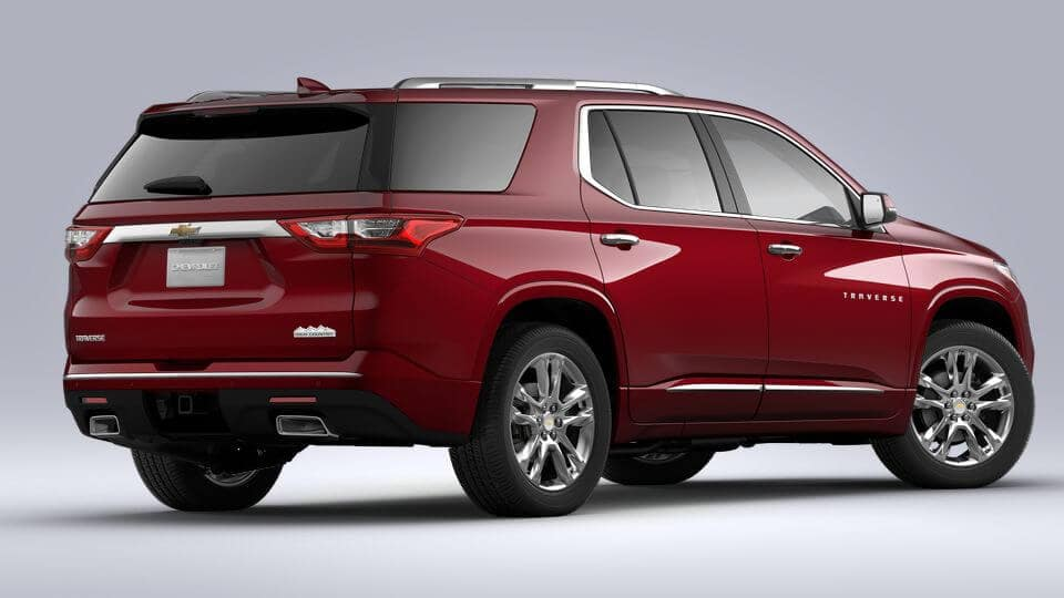 2021 Chevy Traverse Colors Image