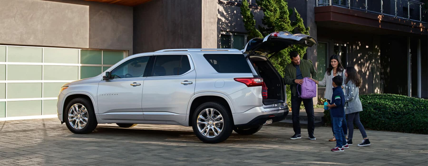 Introducing the New 2021 Chevy Traverse Slider
