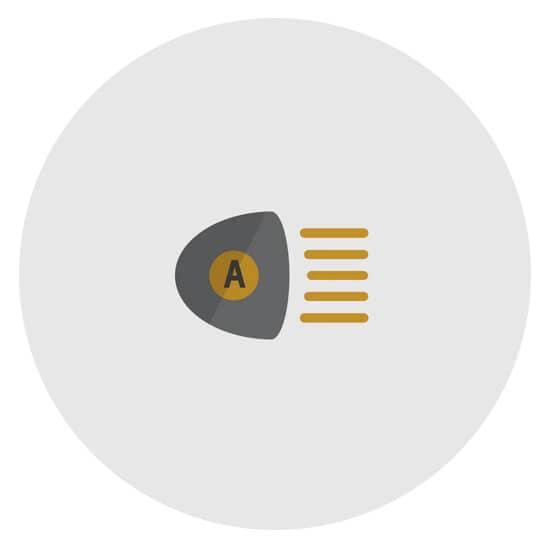 Chevy IntelliBeam Auto High Beam Assist Icon