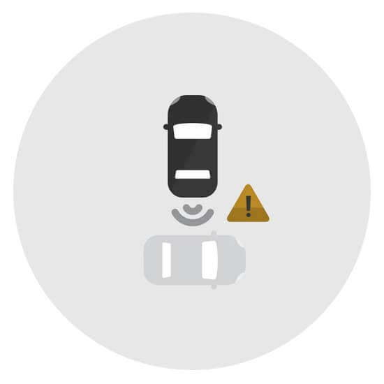 Chevy Rear Cross Traffic Alert Icon