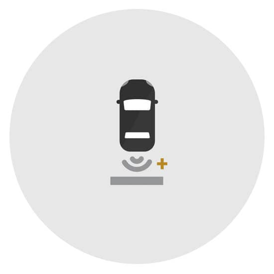 Chevy Rear Park Assist Icon