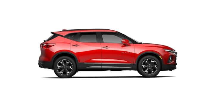 New Chevrolet Vehicles: 2021 Blazer