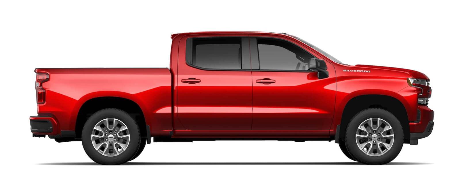 New Chevrolet Vehicles: 2021 Silverado 1500