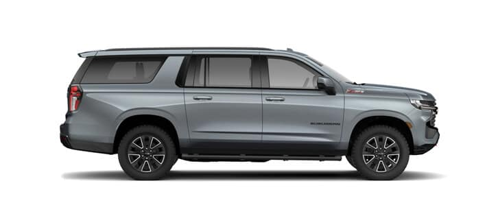 New Chevrolet Vehicles: 2021 Suburban