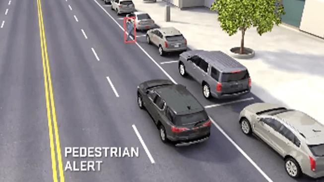 GMC Front Pedestrian Braking Image