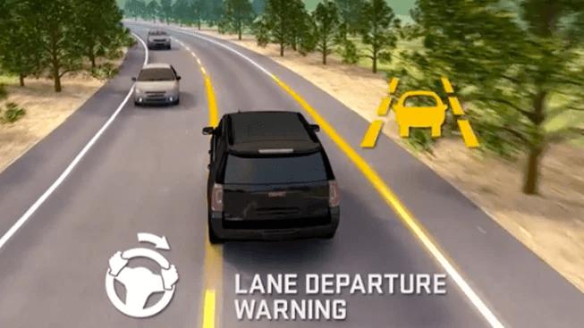 GMC Lane Keep Assist Image