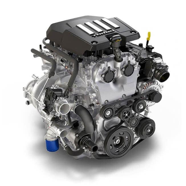 2021 Chevy Silverado 1500 2.7L Turbo Engine