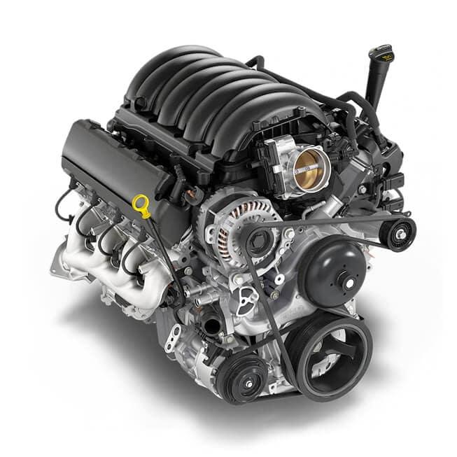 2021 Chevy Silverado 1500 5.3L EcoTec3 V8 Engine with Dynamic Fuel Management