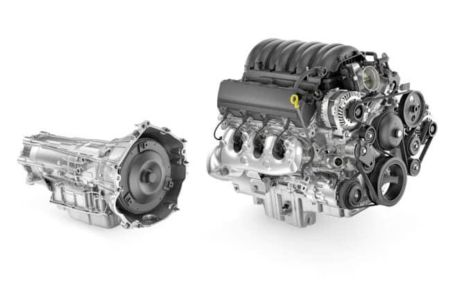 2022 Chevy Silverado HD 6.6L V8 Gasoline Engine
