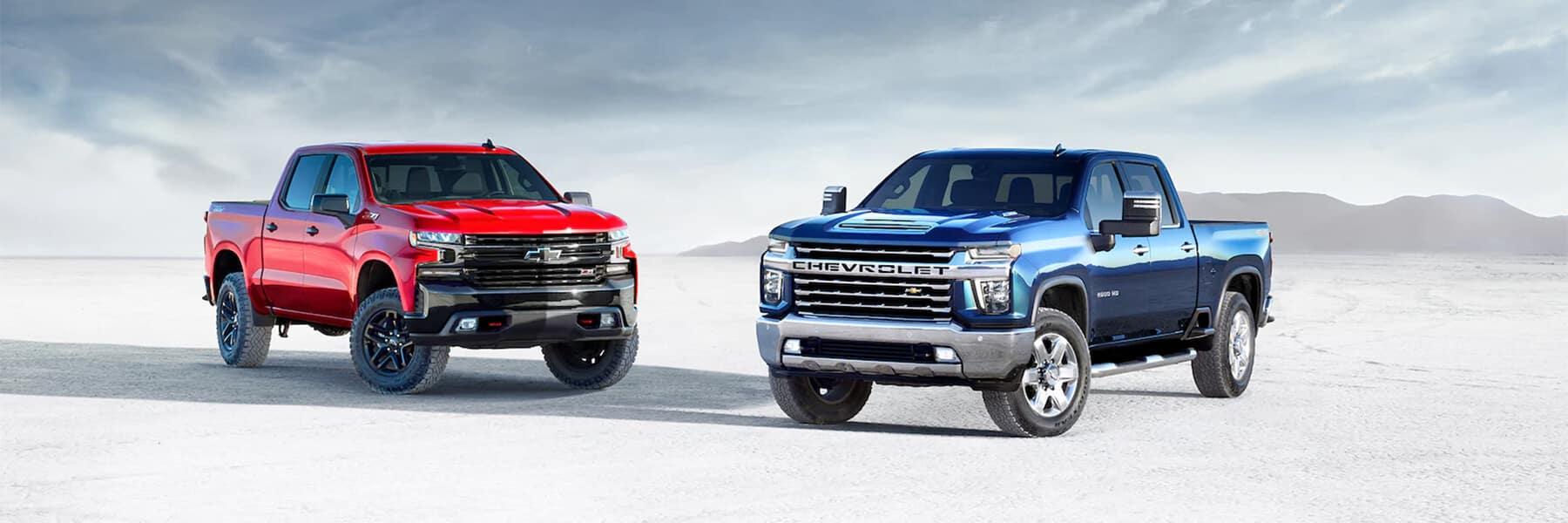 Chevrolet Silverado Family of Pickup Trucks