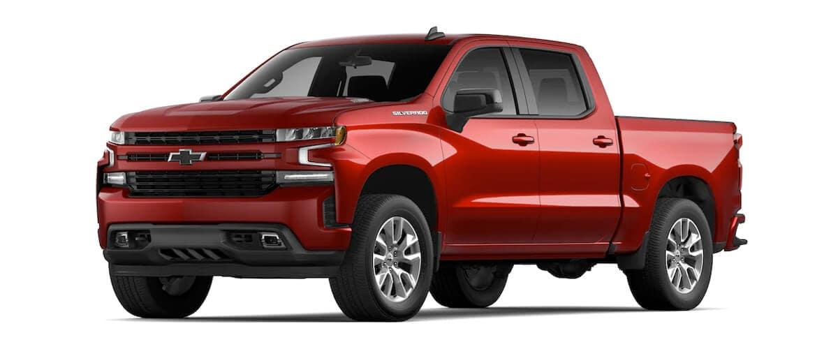 New Chevrolet Vehicles 2021 Silverado 1500