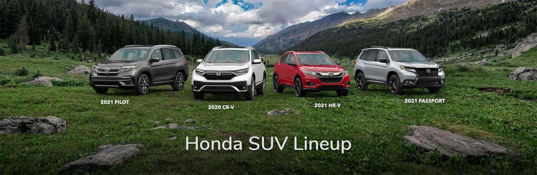 Honda SUV Lineup Vern Eide Honda Sioux City Slider